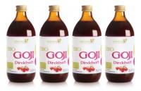Bio Goji Direktsaft 4 x 0,5 Liter Sparset