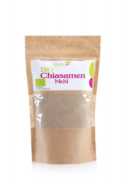 Bio Chiasamenmehl - ein natürlicher Eiersatz