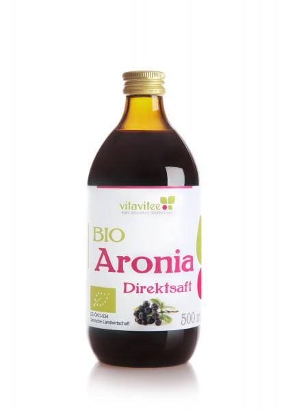 Bio Aronia Direktsaft 0,5 Liter - Genuss auf ganzer Linie