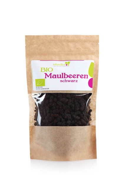 Schwarze Bio Maulbeeren - die aromatischen Energiefrüchte