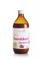 Bio Sanddorn Direktsaft 0,5 Liter - Natur pur
