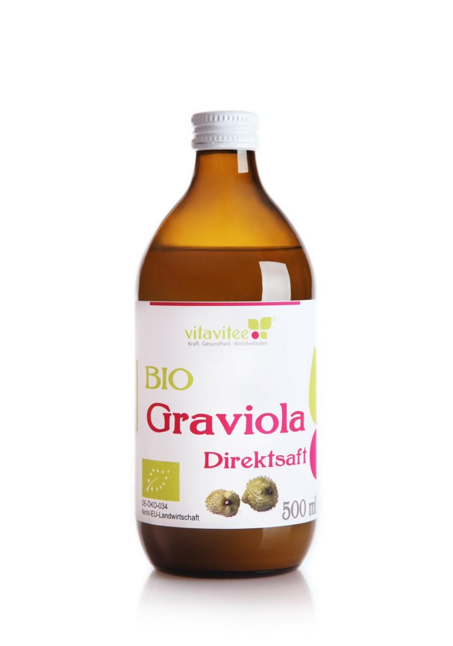 Bio Graviola Direktsaft 0,5 Liter - eine exotische Delikatesse