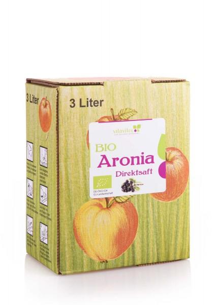 Bio Aronia Direktsaft 3 Liter - Genuss auf ganzer Linie